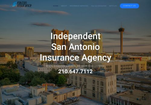 Falcon San Antonio Insurance Services